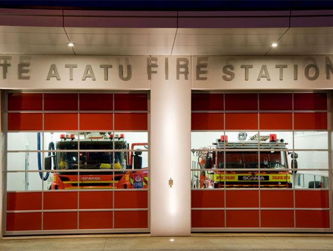 Te Atatu Fire Station by Plaster Solutions